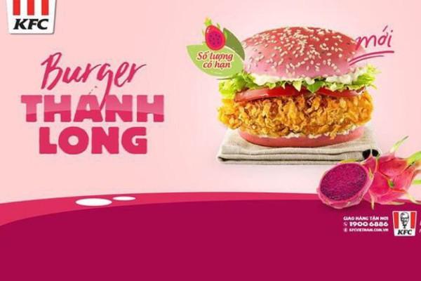 BURGER THANH LONG CỦA KFC VIỆT NAM CHƯA RA MẮT ĐÃ G Y BÃO