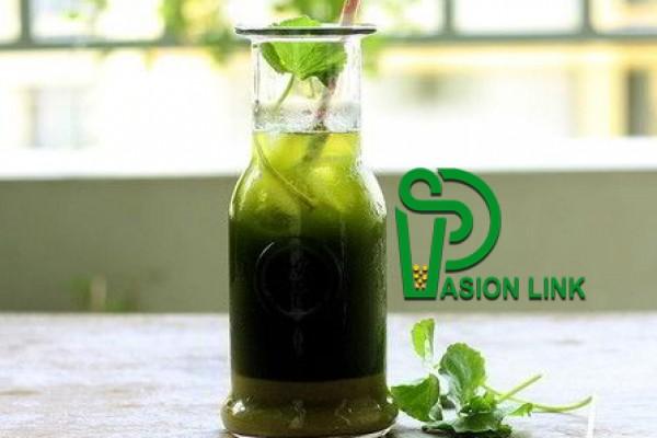 Cách làm sinh tố rau má đậu xanh tốt cho sức khỏe