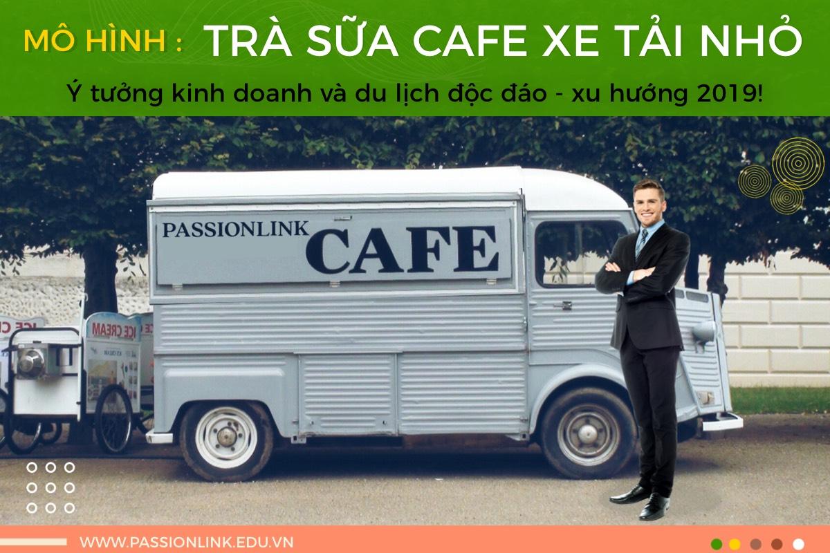 Hướng dẫn mô hình trà sữa cà phê xe tải nhỏ!