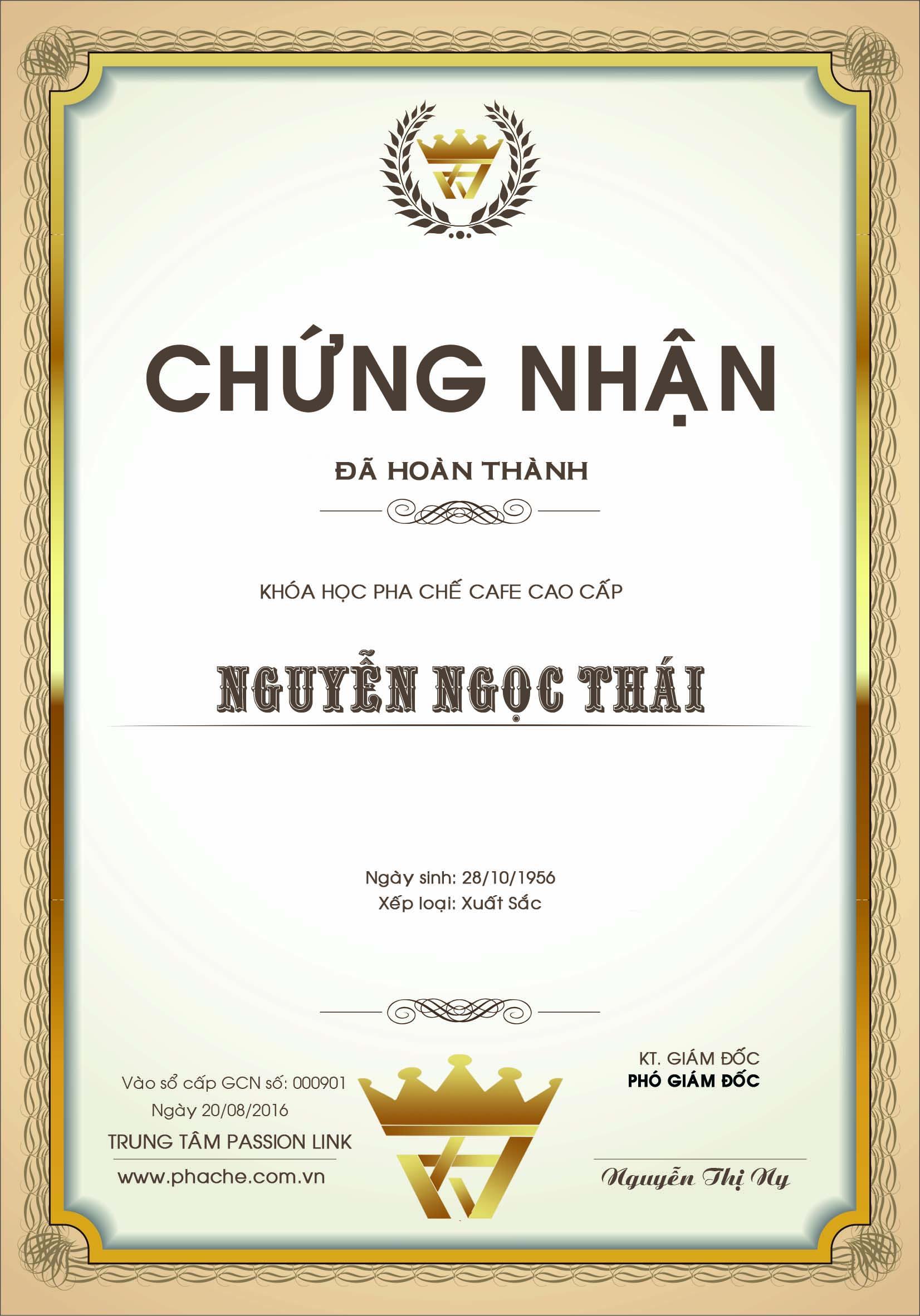 BANG PHA CHE CAFE