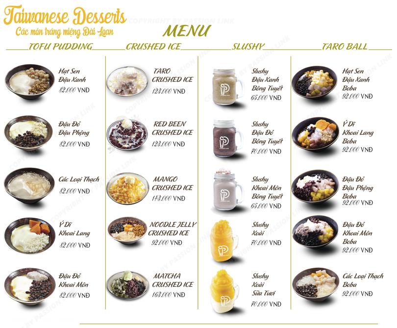 day lam menu che trang mieng meet fresh blackball