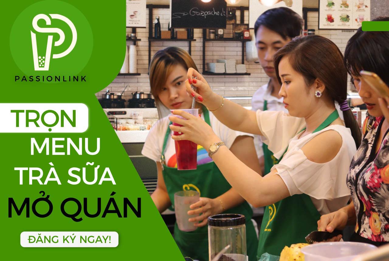 Học trọn menu trà sữa mở quán !