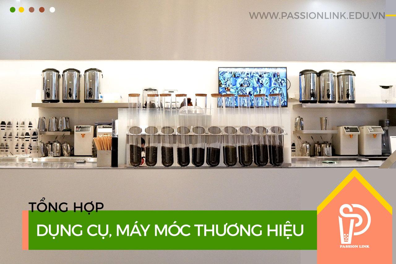 Cách chọn mua máy móc dụng cụ cho thương hiệu trà sữa !