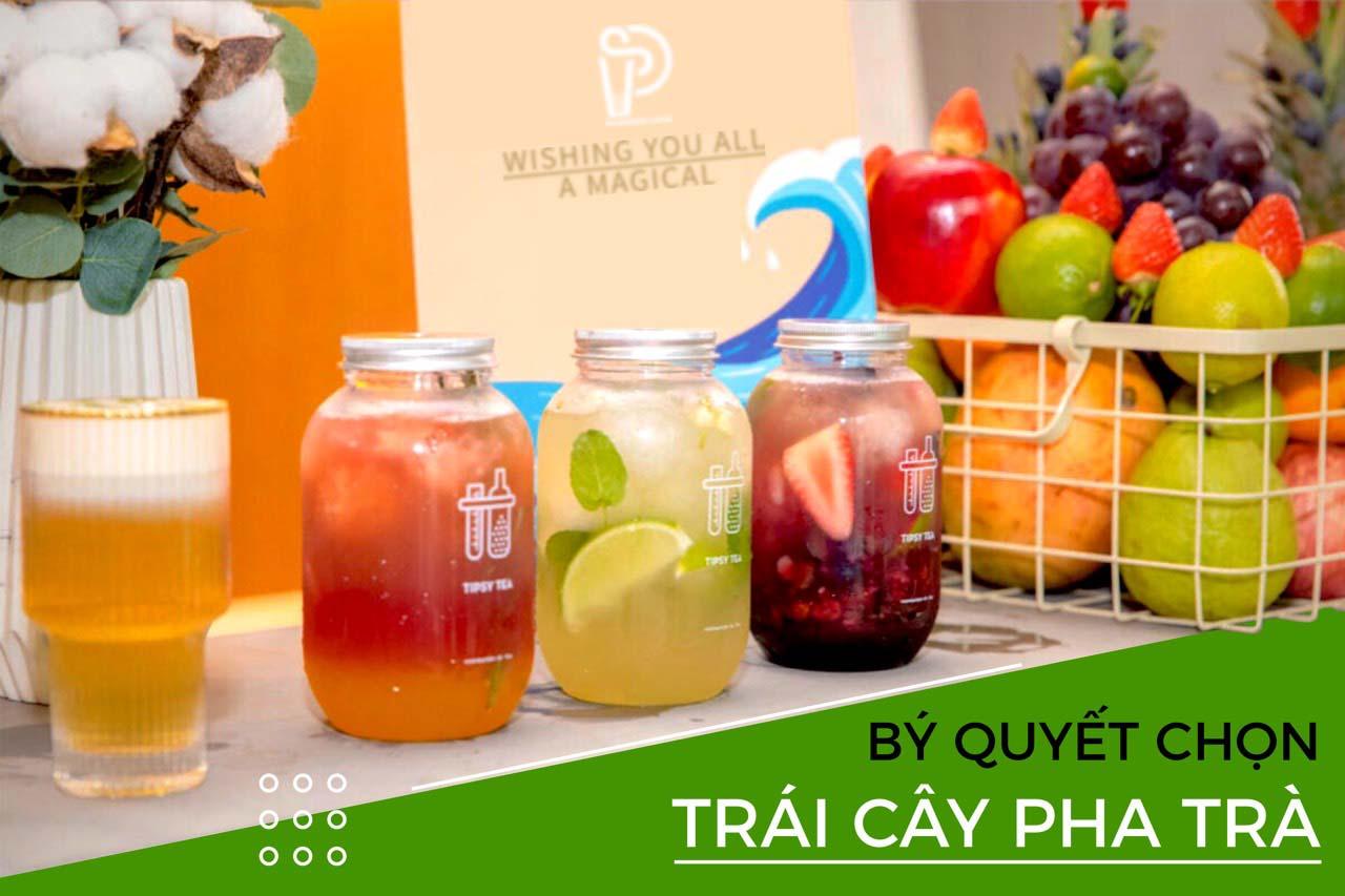 Học bý quyết pha trà hoa quả trên Menu thương hiệu!