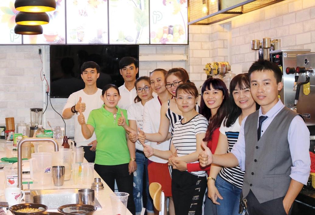 trung tâm dạy pha chế trà sữa chuyên nghiệp