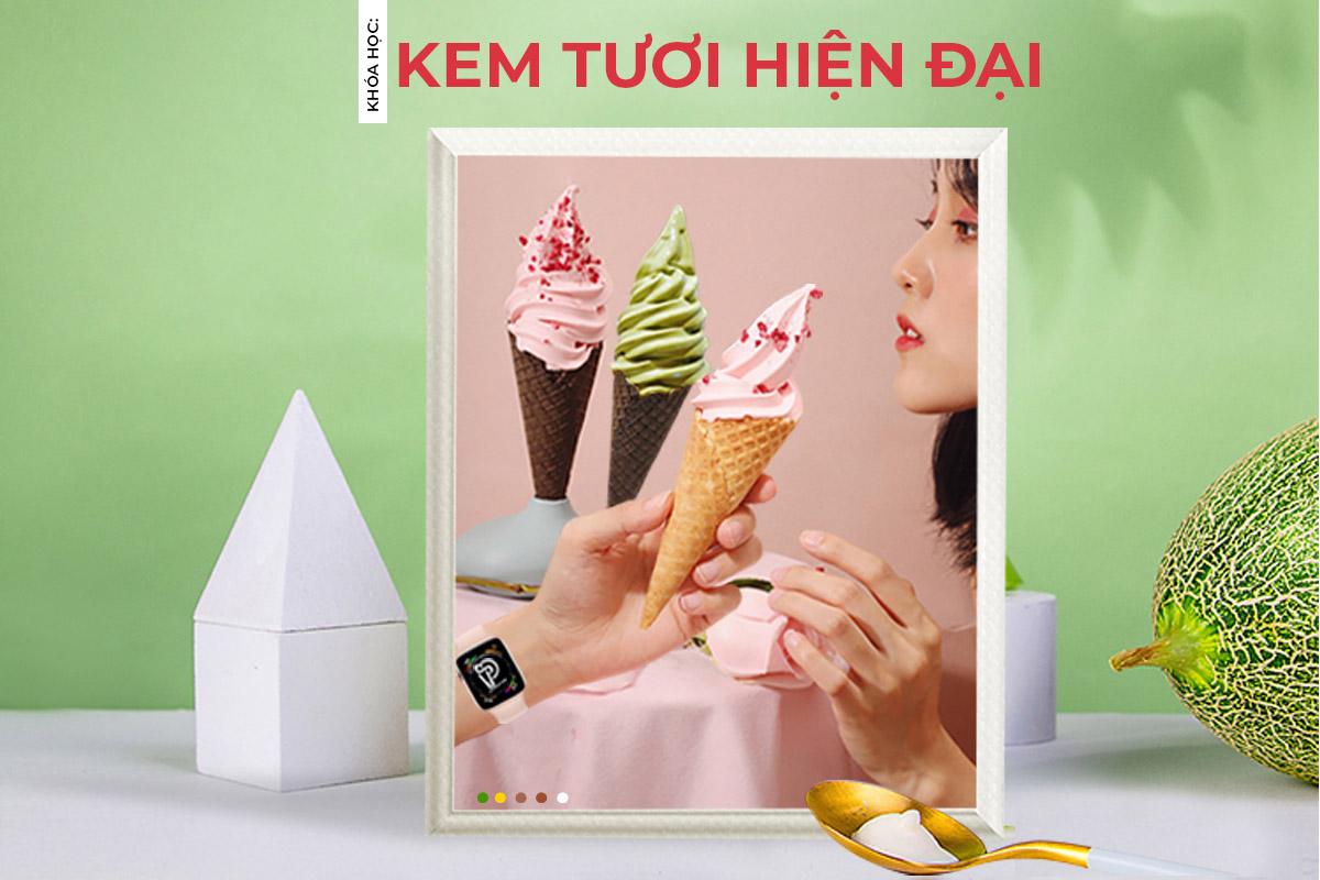 Dạy làm kem tươi ngon mở quán