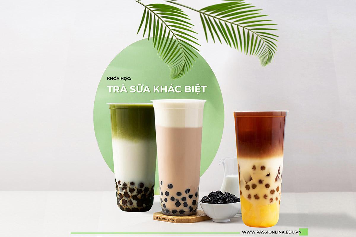 Dạy pha chế trà sữa giá rẻ học để mở quán