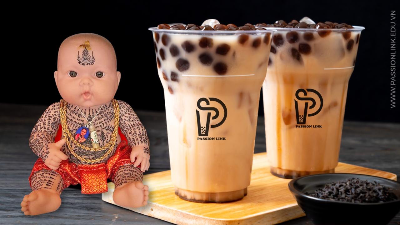 Mô hình trà sữa kumanthong